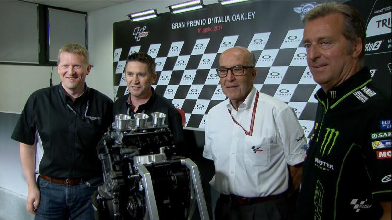 Triumph fornitore motori Moto2 dal 2019
