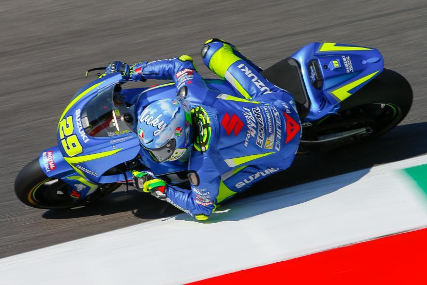 Andrea Iannone, Team Suzuki Ecstar, Gran Premio d'Italia Oakley