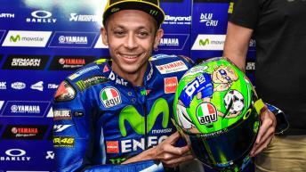Valentino Rossi helmet, Gran Premio d'Italia Oakley
