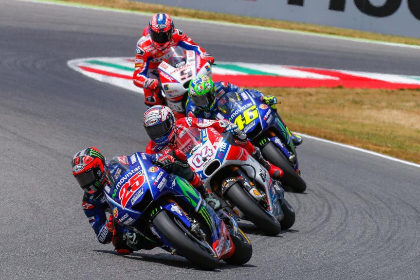 Maverick Vinales, Andrea Dovizioso, Valentino Rossi, Gran Premio d'Italia Oakley