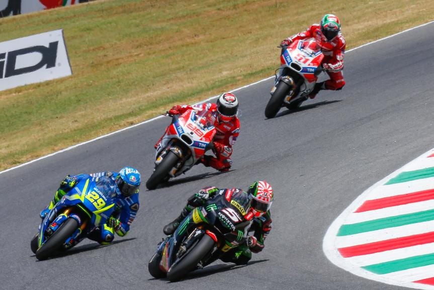 Johann Zarco, Andrea Iannone, Gran Premio d'Italia Oakley