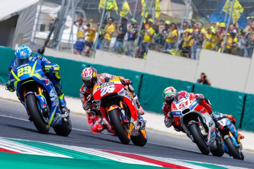 Andrea Iannone, Dani Pedrosa, Gran Premio d'Italia Oakley