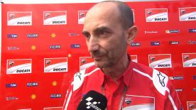 Claudio Domenicali from Ducati Team was very pleased with the two podiums achieve in Mugello