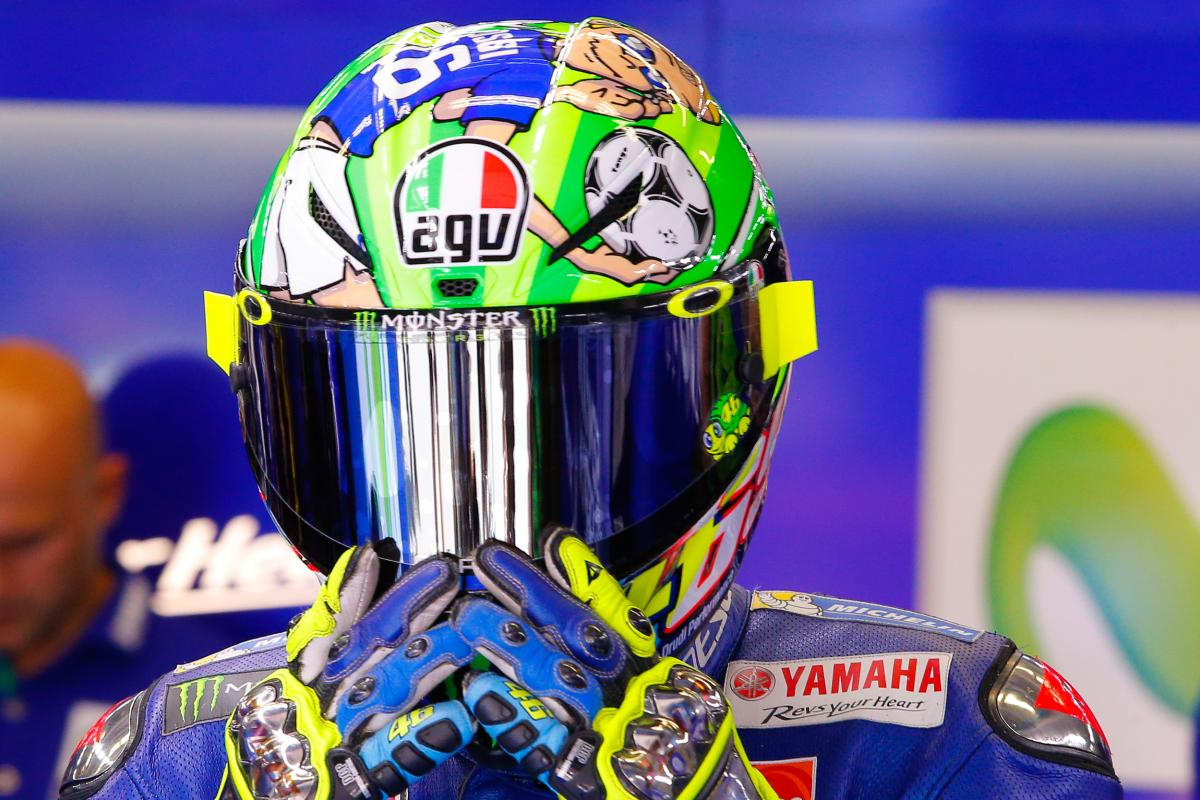 """Rossi: """"Riding in front of so many fans was a gift"""" 