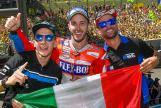 Andrea Dovizioso, Mattia Pasini, Andrea Migno, Gran Premio d'Italia Oakley