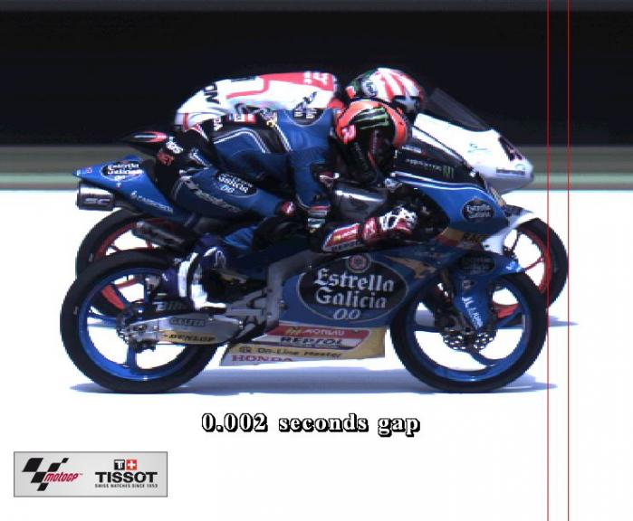 Photofinish Gran Premio d'Italia Oakley Moto3, 4th-5th riders 40-44