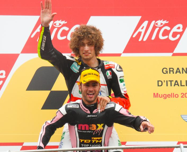 Pasini and Simoncelli, Mugello, 2009
