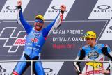Mattia Pasini, Italtrans Racing Team, Alex Marquez, EG 0,0 Marc VDS, Gran Premio d'Italia Oakley