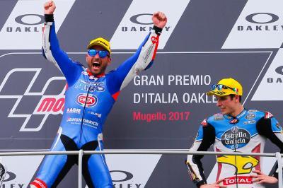 """Pasini: """"Questa vittoria è per Marco Simoncelli"""""""