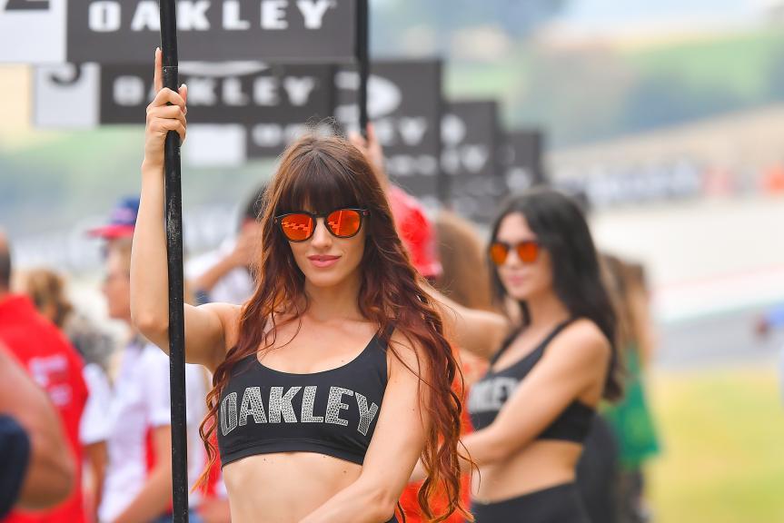 Paddock Girls, Gran Premio d'Italia Oakley