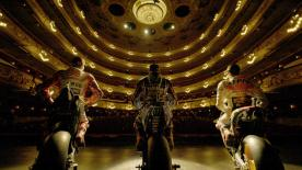Marc Márquez, Jorge Lorenzo y Maverick Viñales descubrieron el Gran Teatro del Liceu en el acto previo al #CatalanGP