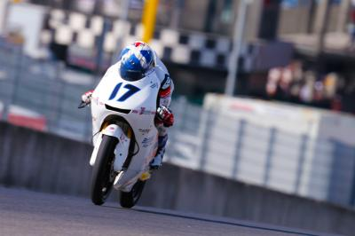 McPhee pushing for the podium in Montmelo