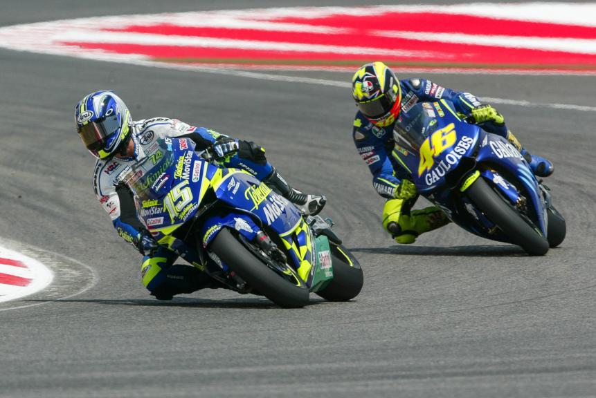 Rossi - Gibernau, 2004