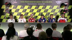 Everything you need to know from the official opening press conference at the #CatalanGP.