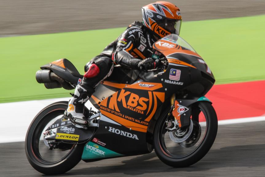 Adam Norrodin, SIC Racing Team, Gran Premi Monster Energy de Catalunya