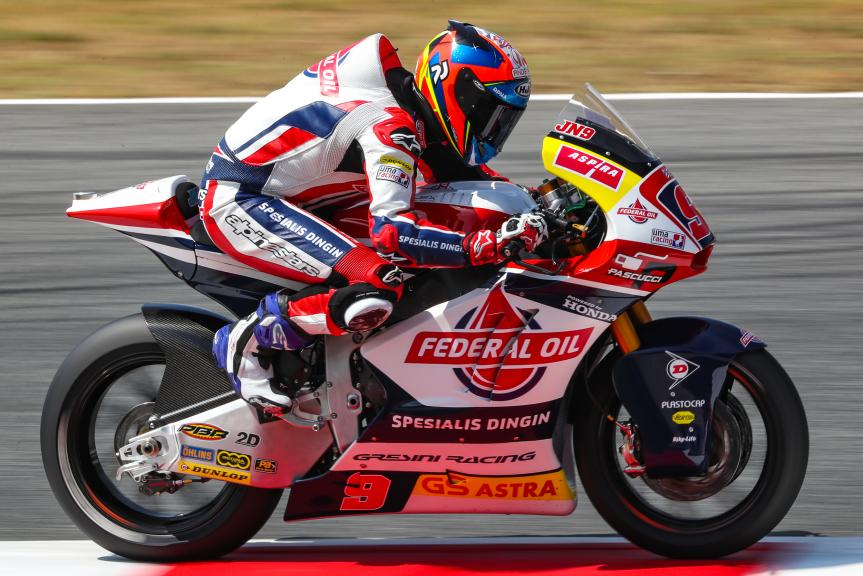 Jorge Navarro, Federal Oil Gresini Moto2, Gran Premi Monster Energy de Catalunya