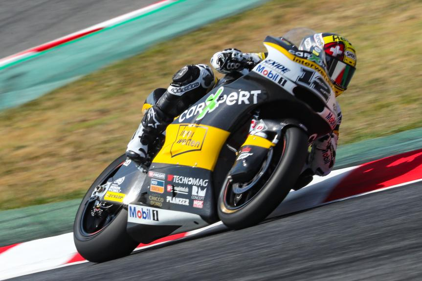 Thomas Luthi, Carxpert Interwetten, Gran Premi Monster Energy de Catalunya
