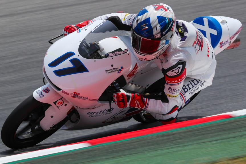John Mcphee, British Talent Team, Gran Premi Monster Energy de Catalunya