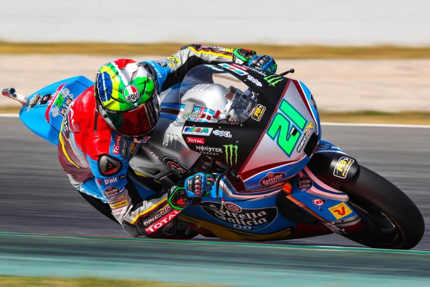Franco Morbidelli, EG 0,0 Marc VDS, Gran Premi Monster Energy de Catalunya