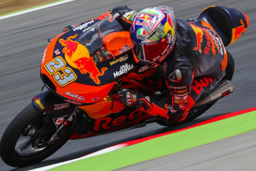 Niccolo Antonelli, Red Bull KTM Ajo, Gran Premi Monster Energy de Catalunya
