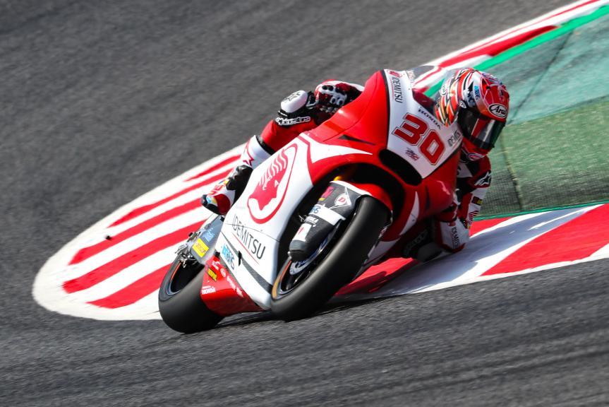 Takaaki Nakagami, Idemitsu Honda Team Asia, Gran Premi Monster Energy de Catalunya