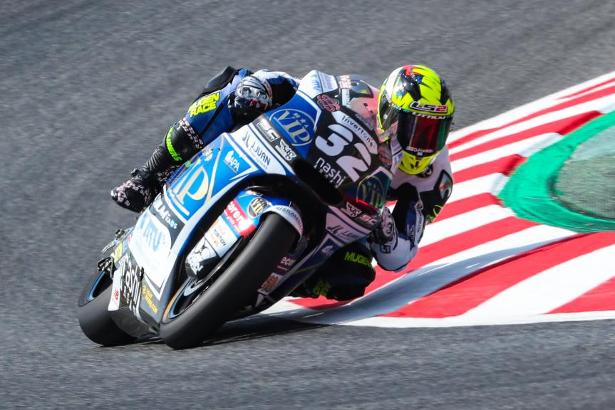 Isaac Vinales, SAG Team, Gran Premi Monster Energy de Catalunya