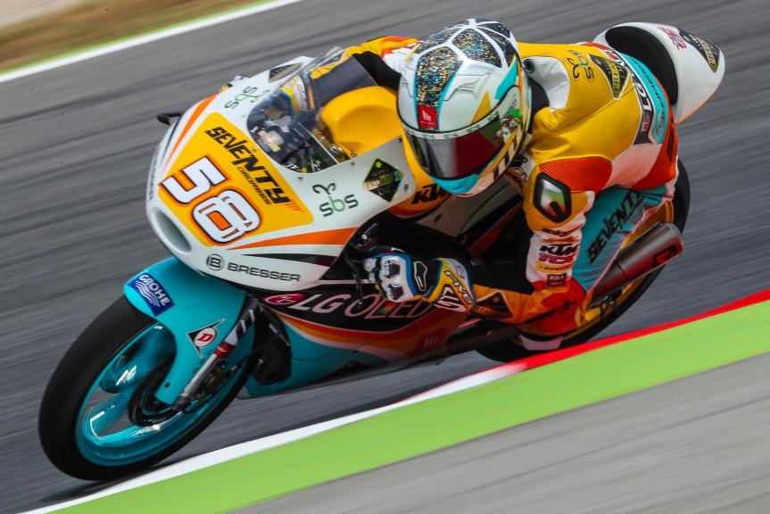 Juanfran Guevara, RBA BOE Racing Team, Gran Premi Monster Energy de Catalunya