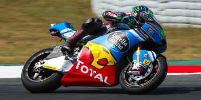 Friday's fastest: Morbidelli heads Marquez despite crash