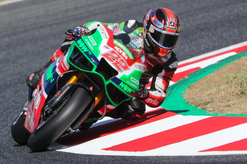 Sam Lowes, Aprilia Racing Team Gresini, Gran Premi Monster Energy de Catalunya