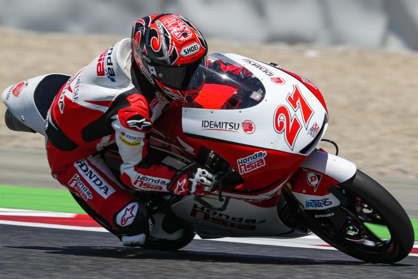 Kaito Toba, Honda Team Asia, Gran Premi Monster Energy de Catalunya