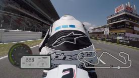 Jump on-board for a lap of the Circuit de Barcelona-Catalunya, filmed exclusively using GoPro cameras.