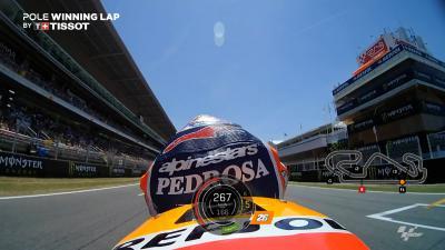 OnBoard Qualifyer mit Pedrosa