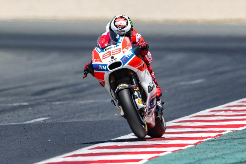 Jorge Lorenzo, Ducati Team, Gran Premi Monster Energy de Catalunya