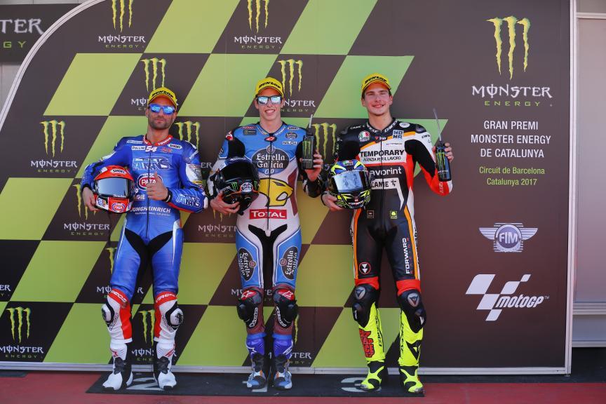Alex Marquez, Mattia Pasini, Lorenzo Baldassari, Gran Premi Monster Energy de Catalunya