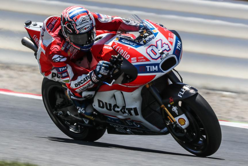 Andrea Dovizioso, Ducati Team, Gran Premi Monster Energy de Catalunya