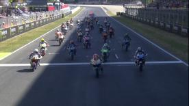 The full race session at the #CatalanGP of the Moto3™ World Championship.