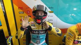 Revive íntegro el Warm Up de Moto3™ en Montmeló