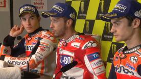 The fastest MotoGP™ riders from the race talk to the press about the results.