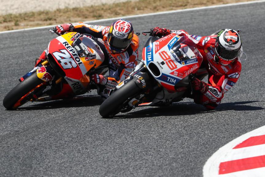Dani Pedrosa, Jorge Lorenzo, Gran Premi Monster Energy de Catalunya