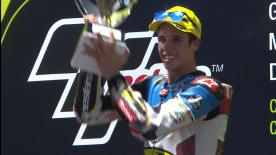 Alex Marquez took a dominant victory in Moto2™, ahead of Mattia Pasini and Thomas Lüthi