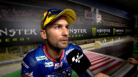 Mattia Pasini finished in second place at the Catalan Grand Prix, his second successive podium finish after winning in Mugello last time out