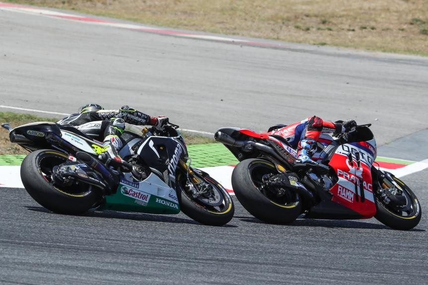 Cal Crutchlow, Scott Redding, Gran Premi Monster Energy de Catalunya