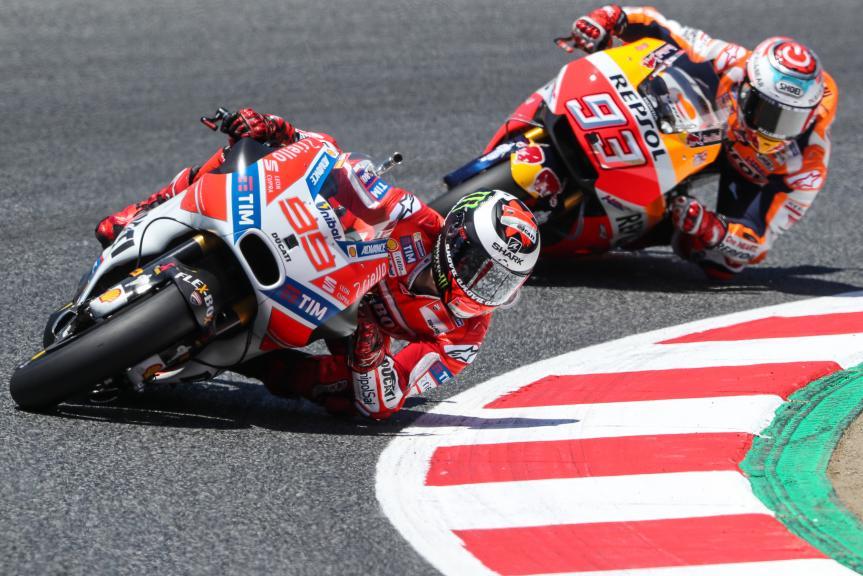 Jorge Lorenzo, Marc Marquez, Gran Premi Monster Energy de Catalunya