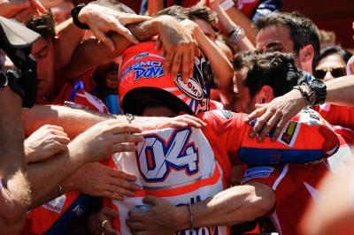 Dovizioso: 'I didn't expect to be competitive...and I won!'