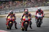 Andrea Dovizioso, Dani Pedrosa, Marc Marquez, Gran Premi Monster Energy de Catalunya