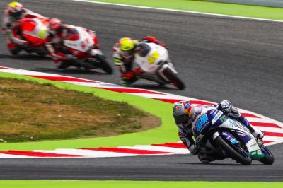 Martín s'adjuge aussi le warm-up Moto3™ en Catalogne