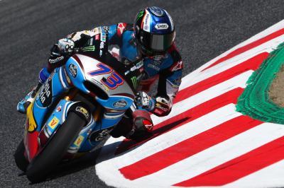 Marquez im Moto2™ Warm-Up vorn