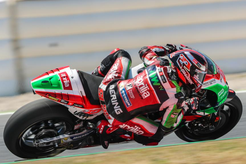 Sam Lowes, Aprilia Racing Team Gresini, Catalunya MotoGP Official Test