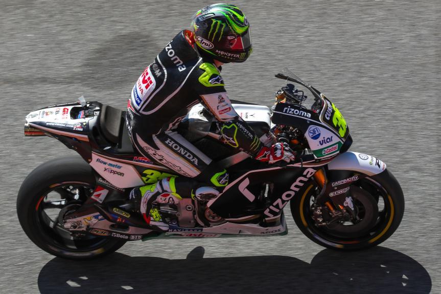 Cal Crutchlow, LCR Honda, Catalunya MotoGP Official Test
