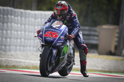 "Viñales: ""Today the feeling was really good"""